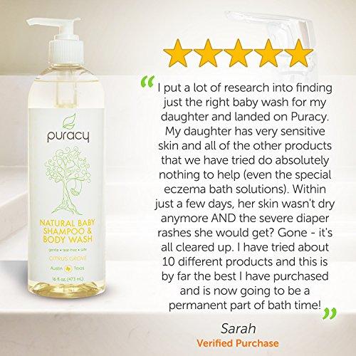 Review Puracy Natural Baby Shampoo