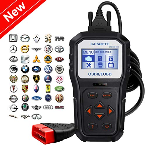 (Carantee OBD2 Scanner Professional Universal Automotive Engine Fault Code Reader CAN Diagnostic Scan Tool for All OBDII Protocol Cars Since 1996(Upgraded CT818)¡)