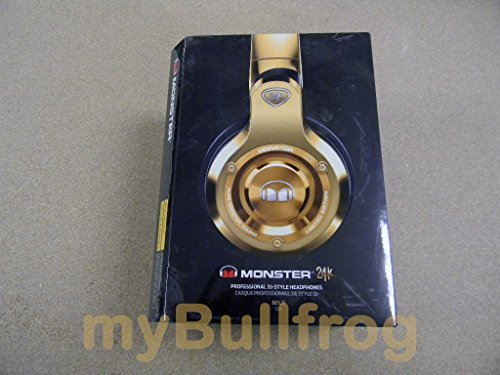 Monster MH 24K OE RGLDBK CU WW 24K Over-Ear Headphones by Monster - Multilingual