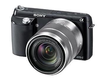 Sony NEX-F3 - Cámara EVIL digital de 16.1 Mp (pantalla de 3 pulgadas