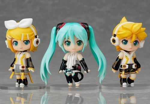 Good Smile Company - Vocaloid Miku, Rin, Ren Append Set Nendoroid Petite Figurine PVC (Not for Sale)