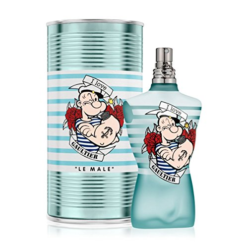 Jean Paul Gaultier Le Male  Popeye  Eau Fraiche Eau De Toilette Spray 125Ml 4 2Oz