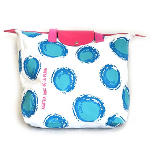Shopping bag 'Agatha Ruiz De La Prada' blue pink.