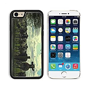 Cow Cows Cattle Farm Animals Agriculture 3DCom iPhone 6 Cover Premium Aluminium Design TPU Case Open Ports Customized Made to Order