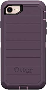 OtterBox Defender Series Rugged Case for iPhone SE (2020), iPhone 8, iPhone 7 (NOT Plus) Case Only - Non-Retail Packaging - Purple Nebula (with Microbial Defense)