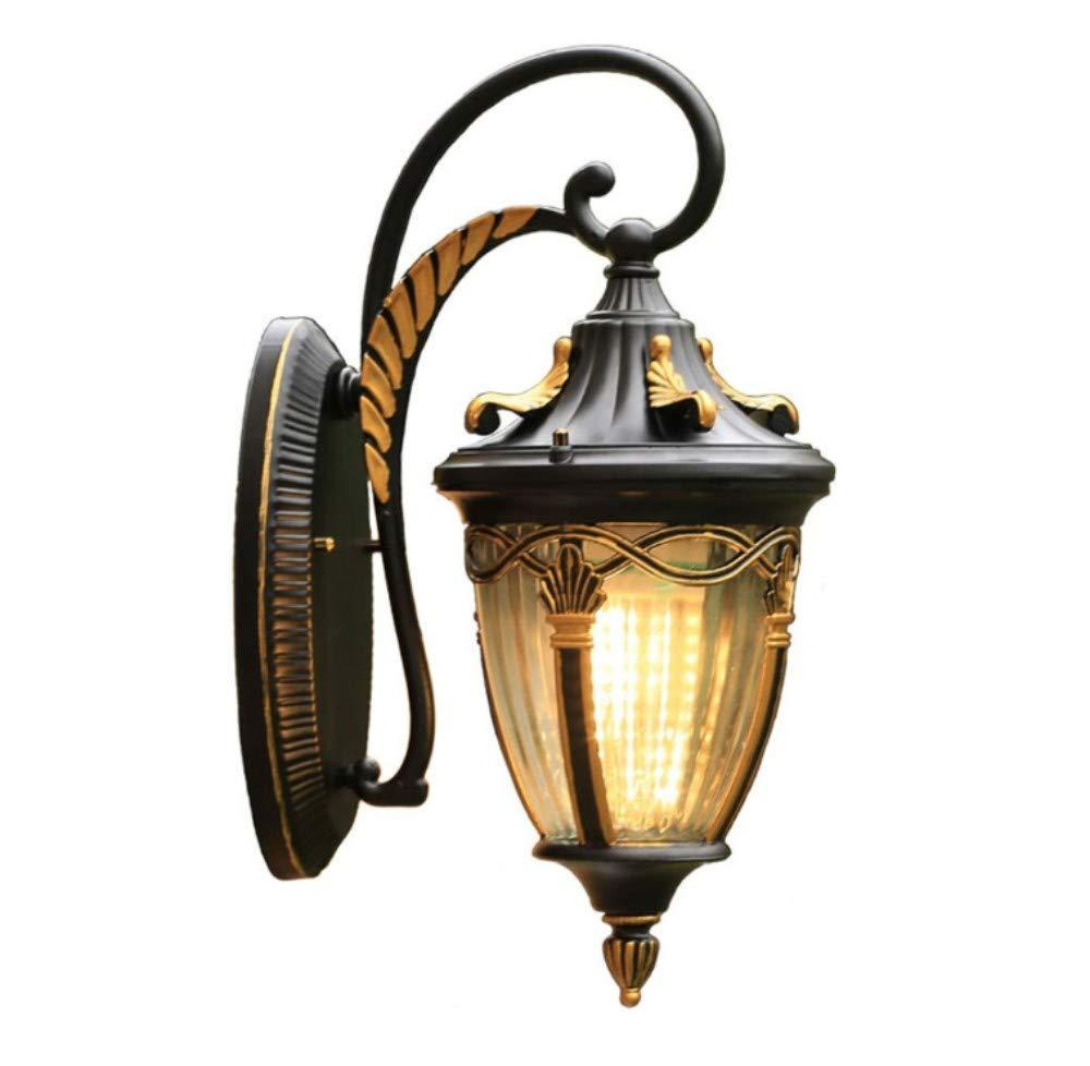Lampada da parete corpo in alluminio corpo lampada da parete, lampada da parete decorativa a LED per esterni