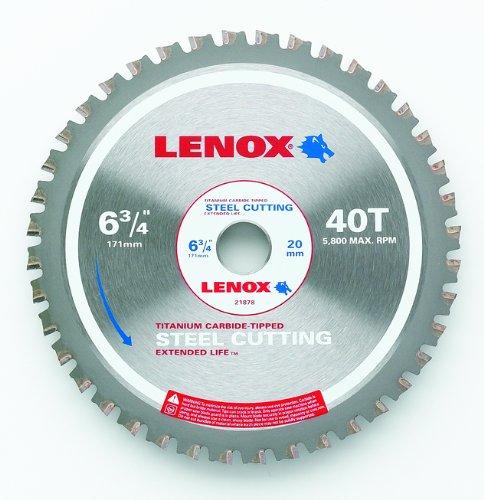 Disco Sierra LENOX Corte de acero 6 3/4 x 40T (21878ST6340