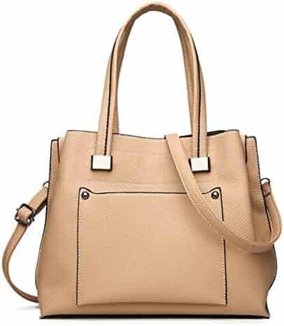 Soperwillton Handbag For Women Top Handle Satchel Shoulder Bag Tote Purse b64a2e20f72d9