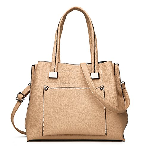 Soperwillton Handbag For Women Top Handle Satchel Shoulder Bag Tote Purse by Soperwillton