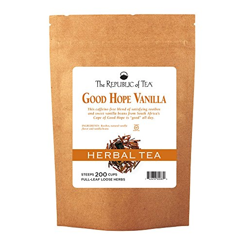 The Republic Of Tea Good Hope Vanilla Red Full-Leaf Tea, 1 Pound / 200 Cups