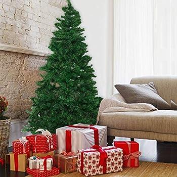 989e91eac380 Amazon.com  Artificial Premium Christmas Pine Tree With Solid Metal ...