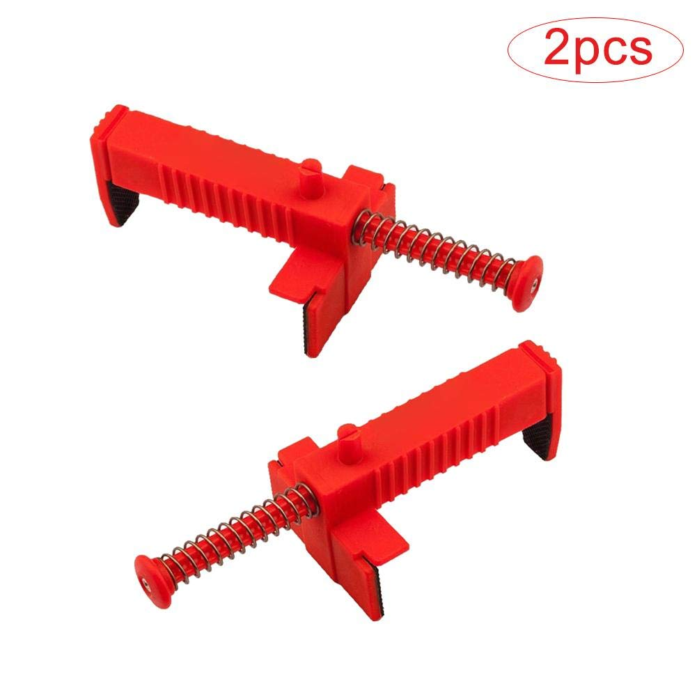 strety 2PCS Brick Liner Runner Brick Line Clips Brick Liner Puller Pull Wire clamp for Masons Engineering Cut Wire Puller Brick Leveling Measuring Tools
