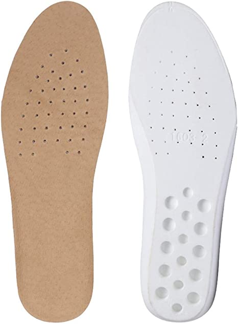 Shoes Insoles Leather Inserts New