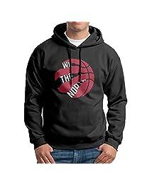 Men's Toronto Raptors We The North Logo Hoodies S Black