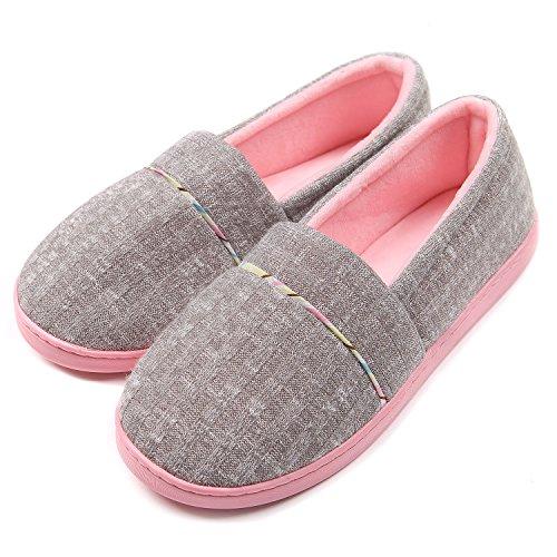 ChicNChic-Women-Comfortable-Cotton-Knit-Anti-Slip-House-Slipper-Washable-Slip-On-Home-Shoes