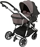 Kiddy Click 'n Move 3 Carrycot - Walnut