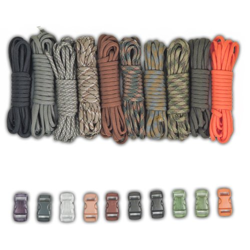 Paracord Survival Bracelet Project Buckles