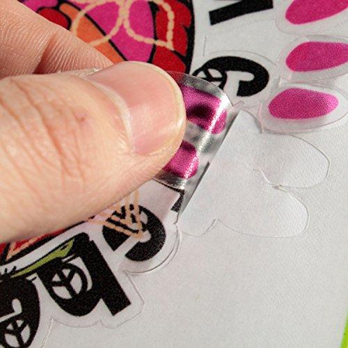 Indische Federn DŸnne Vinyl Digitale Aufkleber-Haut-Abziehbilder Abdeckung Laptop Skin fŸr Apple Macbook