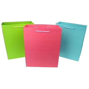 CRÉDITO Juego de 3 bolsas uni de colores, 3 bolsillos de ...