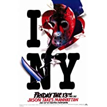 Friday the 13th Part 8 Jason Takes Manhattan 11 x 17 Movie Poster - Style B
