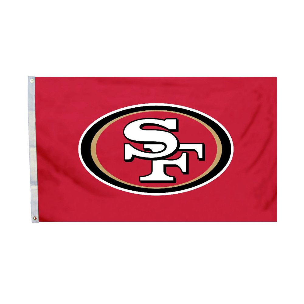 NFL San Francisco 49ers 3フィートX 5 Ft。Flag with Grommetts   B00OFV3C6Y, 神戸芳香園 お茶といろいろ 549f4d5f