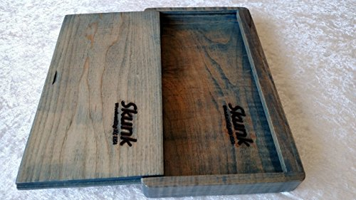 Maple Rolling Tray with Lid, Stash Box, Skunk Woodworking Ky.