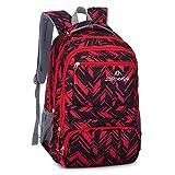 """Debbieicy 17.7"""" Boys Waterproof School Bag Durable Travel Camping Backpack Large Capacity Kids"""