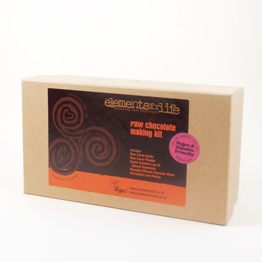 Elements For Life Raw Chocolate Making Kit 8 X 670g
