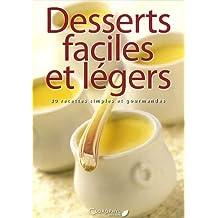 Desserts faciles et légers