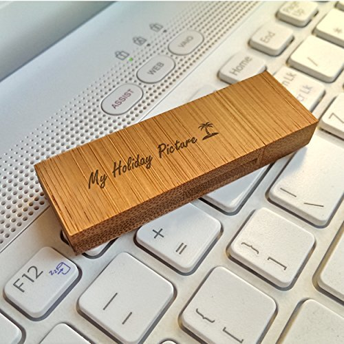 Personalized USB storage flash drive Bamboo XL 3.0 32GB Handmade,Included Jewelry or Gift packaging and Custom engraving, Gift idea,Anniversy,Birthday