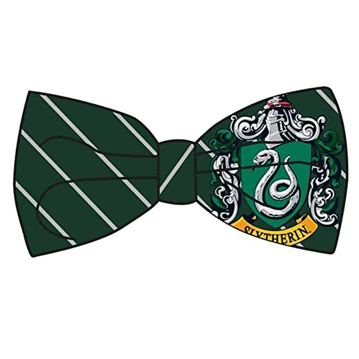 Bow tie green. Harry potter slytherin