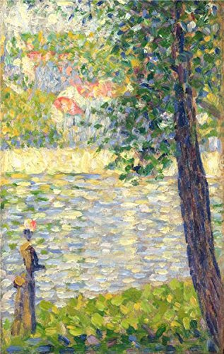 Perfect Effect Canvas ,the High Resolution Art Decorative Canvas Prints Of Oil Painting 'Georges Seurat - The Morning Walk,1885', 16x25 Inch / 41x64 Cm Is Best For Bedroom Gallery Art And Home Decor And (Halloween Props Clearance Uk)
