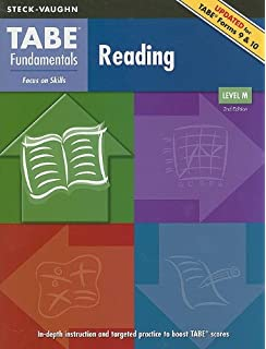 Tabe fundamentals student edition math computation level d math tabe fundamentals student edition reading level m fandeluxe Image collections