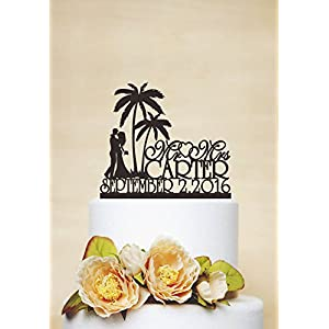 51fFwx%2BITOL._SS300_ Beach Wedding Cake Toppers & Nautical Cake Toppers