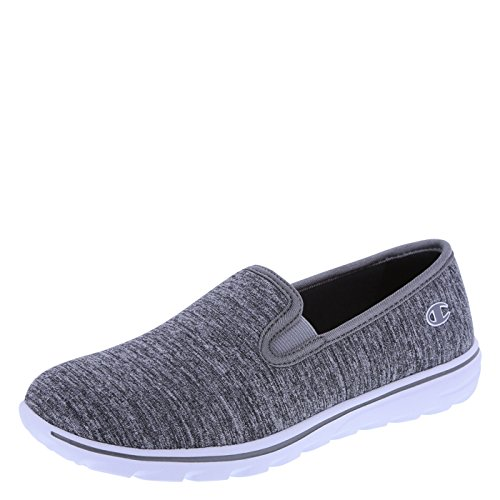 Champion Slip On (Champion Women's Grey Jersey Women's Rewind Slip-On 7.5 Regular)