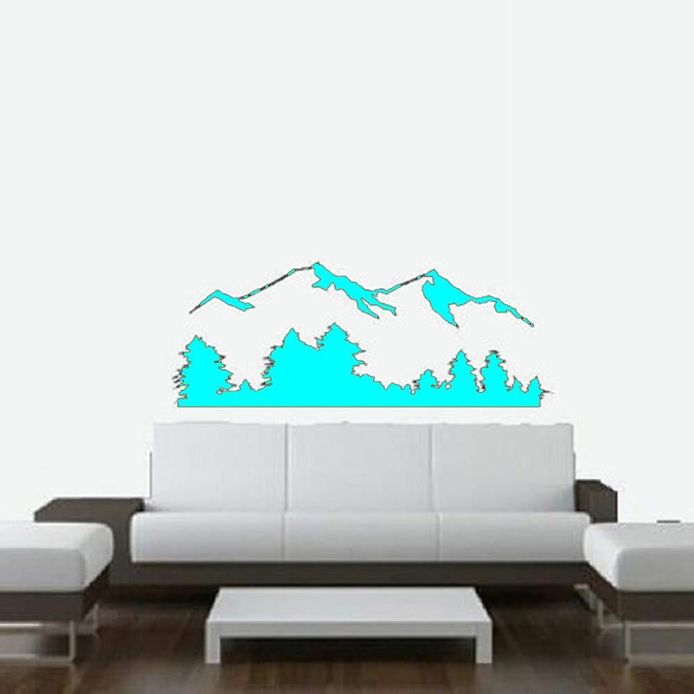 Escena de la montaña Tatuajes de pared Naturaleza y paisaje ...