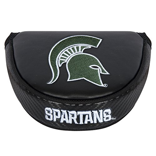 higan State Spartans Mallet Putter Coverblack Mallet Putter Cover, Black, NA ()