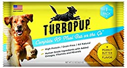 TurboPUP Complete K9 Peanut Butter Meal Bar Multipack (Pack of 6)