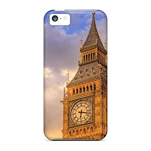 Premium Big Ben Back Cover Snap On Case For Iphone 5c