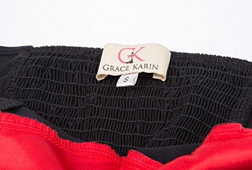 femmes mi 1 50 Halter annes Vintage Dress des KARIN longues Robe Robes GRACE Rockabilly des Cl496 rtro an0PIAxW