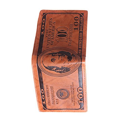 Lui Sui Dollar Wallet Billfold Leather