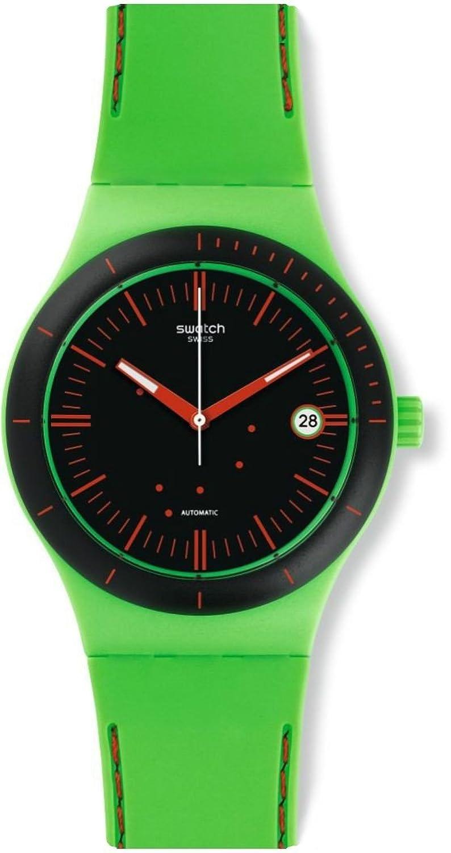 Swatch Herren Armbanduhr Digital Automatik Silikon SUTG401