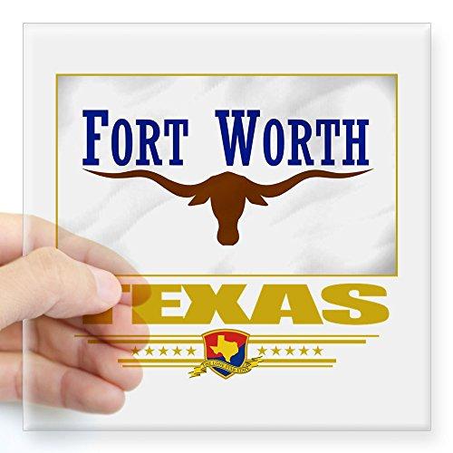 CafePress - Fort Worth (Flag 10).Png Square Sticker 3