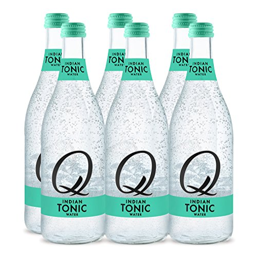 Q Drinks, Q Indian Tonic Spectacular Tonic Water, Premium Mixer, 500 ml Glass Bottles (Case of 6) ()