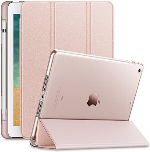 Infiland Lightweight Translucent Frosted Rose Gold