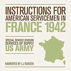 Instructions for American Servicemen in France 1942