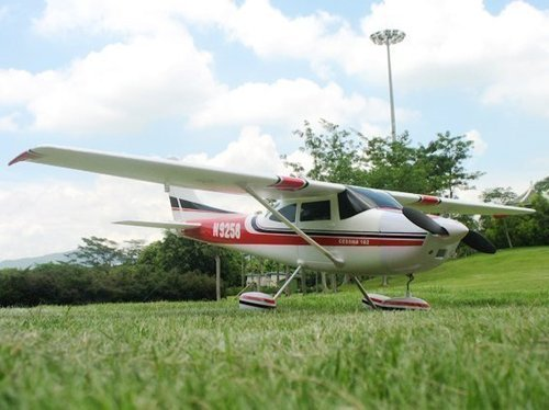 Large Cessna 182 Radio Controlled Plane 2.4G 4- Channel ()