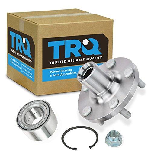 Toyota Celica Wheel Bearing - TRQ Front Wheel Hub & Bearing Kit 5 Lug for Toyota Pontiac Matrix Celica Corolla