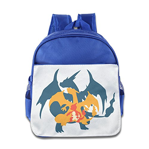 XJBD Custom Cute Charmander Charmeleon And Charizard Children School Backpack For 1-6 Years Old (Costume Design School Seattle)