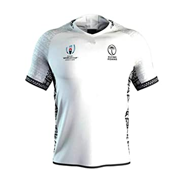 MWbetsy Fiyi Local Visitante Jersey Copa Mundial de Rugby ...